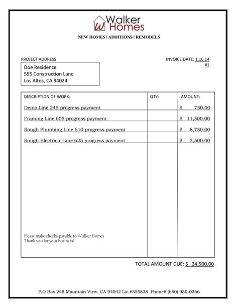 billing invoice template word dascoop info