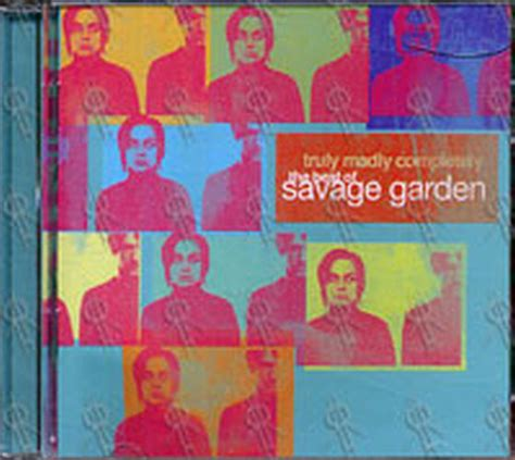 savage garden truly madly completely the best of savage