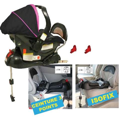 syst鑪e isofix si鑒e auto looping base isofix achat vente embase si 232 ge base