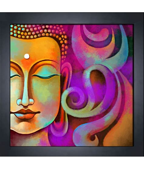 Home Decoratives by Art Factory Buddha Canvas Painting Buy Art Factory Buddha