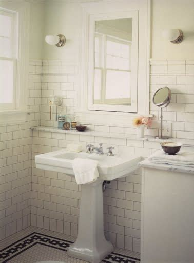 bathroom with subway tile white subway tiles marley and lockyer