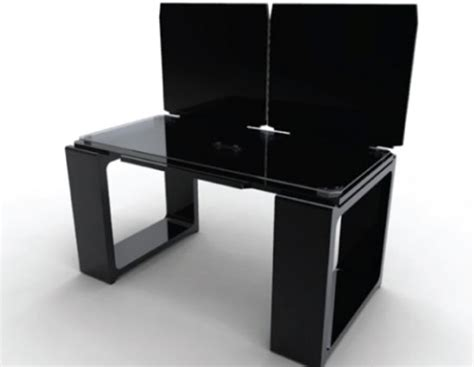 modern futuristic black office furniture designs iroonie