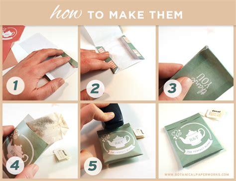 wedding favor tea bags 2 free printable tea package wedding favors