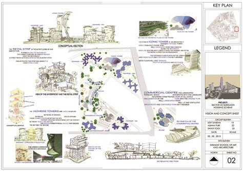 Projects Architectural Portfolio Architectural Design Concept Sheets