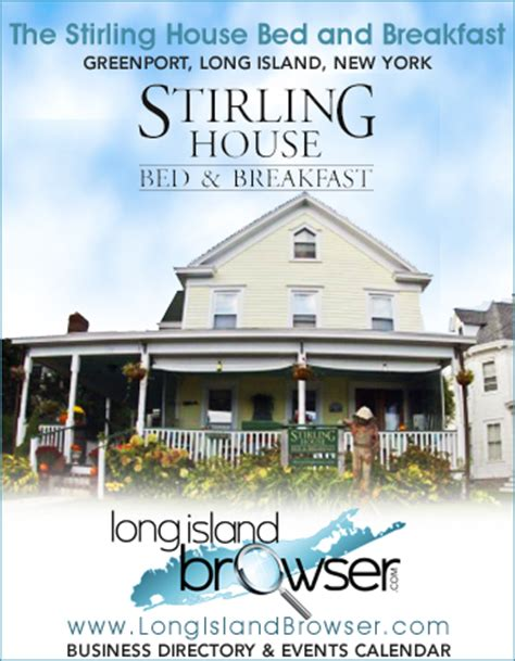 bed and breakfast nyc the stirling house bed and breakfast grenport long