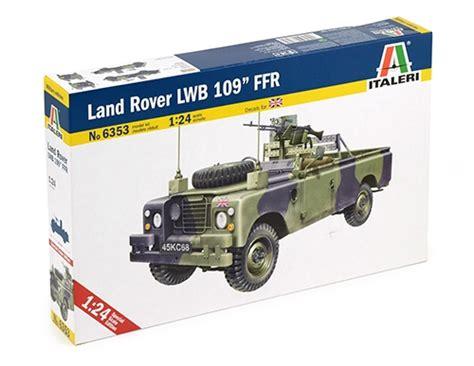 land rover italeri land rover lwb 109 ffr italeri 6353