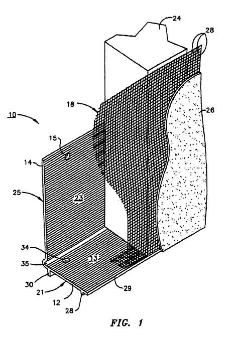 stucco casing bead patent us7036284 stucco casing bead patents