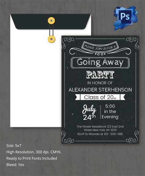 going away invitation template farewell invitation template 26 free psd format