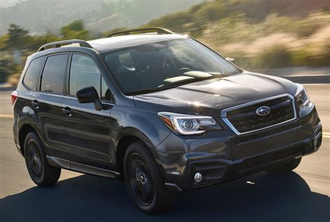 New Subaru Forester 2018 by 2018 Subaru Forester Overview Cargurus
