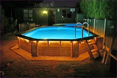 Above Ground Pool Backyard Ideas by Above Ground Pool Ideas For Small Backyard Pool