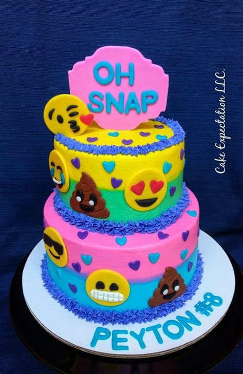 Best 25 ideas about Emoji Cake Ideas Find what youll love