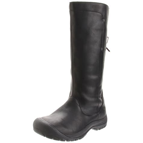 keen womens boots keen womens shelby high casual boot in black black