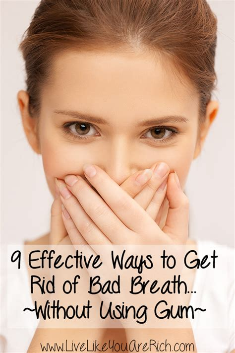 how to fix bad breath how to fix bad breath without gum live like you are rich