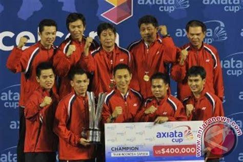 Sinensa Di Surabaya surabaya tuan rumah kejuaraan beregu axiata cup antara news
