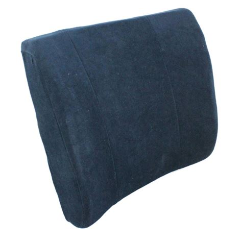 orthopaedic memory foam lumbar pillow