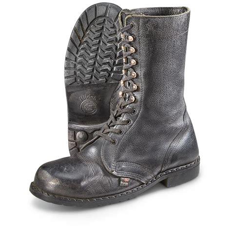 swiss surplus 2 prs of used swiss surplus mountain boots