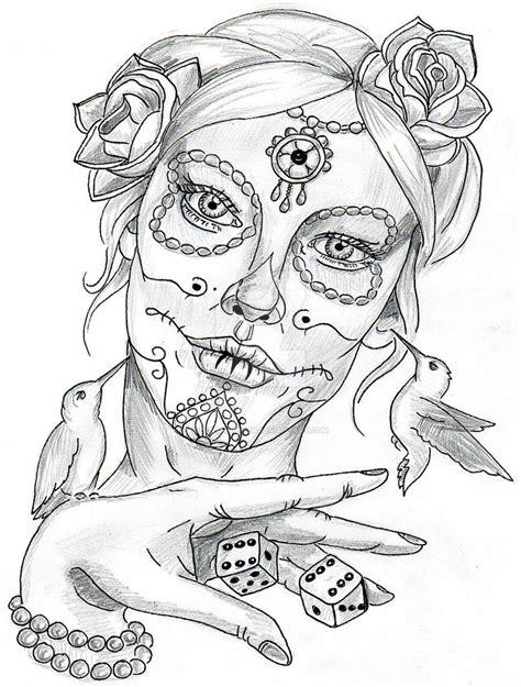 la catrina by jentheripper on deviantart