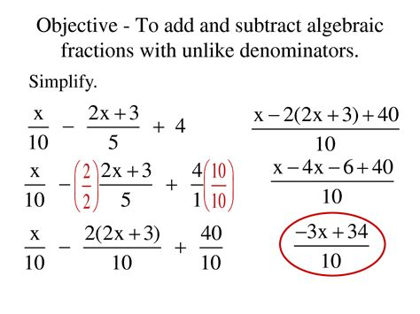 Adding And Subtracting Mixed Numbers With Unlike Denominators Worksheets by 14 Solving Equations With Variables On Both Sides