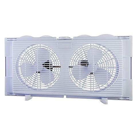 bionaire twin window fan lasko 16 in electrically reversible window fan 2155a