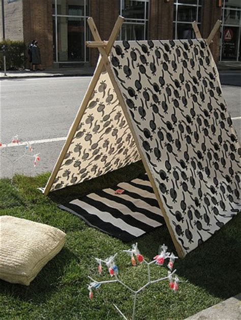 how to build a tent how to make fabric pup tent popsugar home