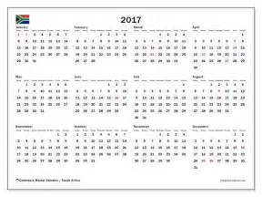 Calendar 2018 South Africa Calendar For 2017 South Africa Calendar Template 2017 2018