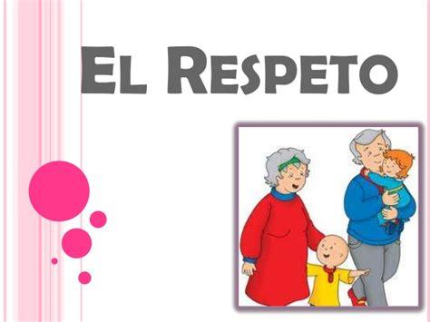imagenes en ingles de respeto el respeto