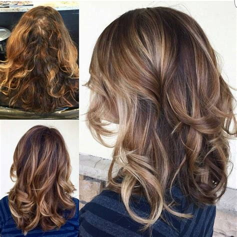 images of brunettes with ecaille tortoise shell balayage by alexandriassalonandspa