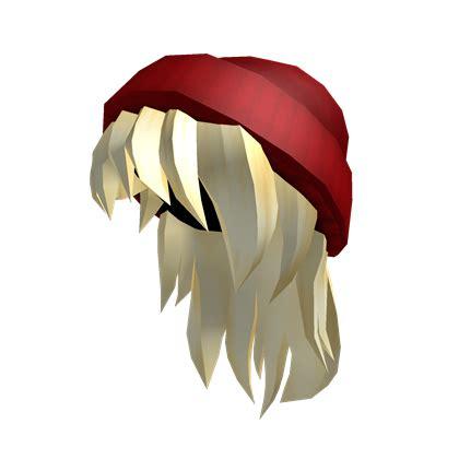 roblox hair for tix catalog red beanie blonde hair roblox wikia fandom