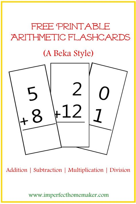 printable flash cards multiplication and division free printable arithmetic flashcards free printable