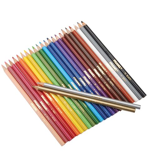 prang colored pencils prang thick colored pencil set 24pk at joann