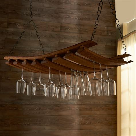 Hanging Wine Racks Ceiling by Ceiling Hanging Wine Rack White Kitchen With Island U