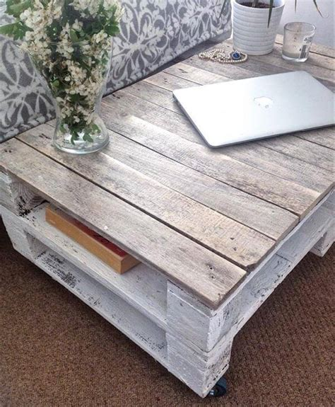 diy shabby chic pallet coffee table pallet furniture diy