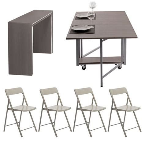 Table De Jardin En Aluminium Avec Rallonge 1077 by Archimede Zeta Set Console Set Avec Table Pliable 170x90