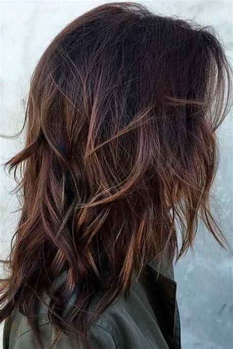 modern medium length layered hairstyles gallery