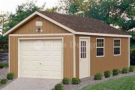 garage plans    structures building gable shed