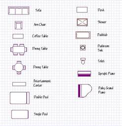 furniture symbols for floor plans bunk bed plans twin over full with stairs diy ideas