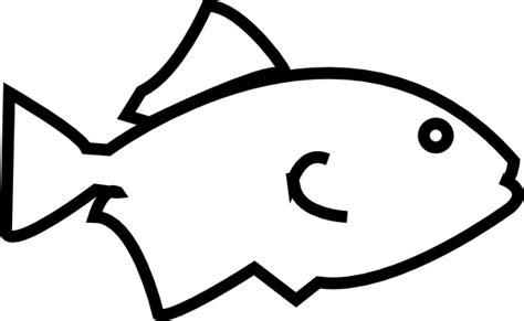 Fish Outline Clip by Fish Outline Clipart Cliparts Co