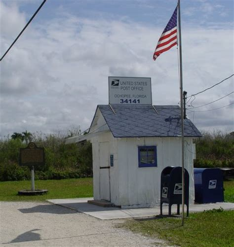 Post Office In by Ochopee Post Office