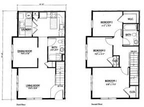 Simple 2 Story House Floor Plans by Gallery For Gt Simple 2 Story Floor Plan
