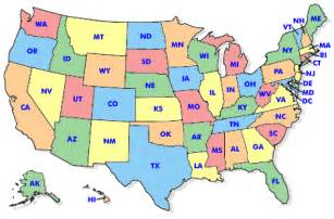 united states map state abbreviations us map abbreviations my