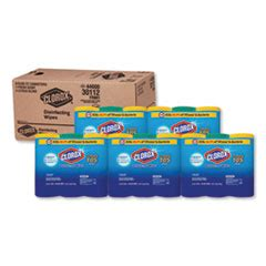 clorox disinfecting wipes    fresh scent canister carton jacobs paper