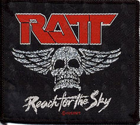 design a logo patch ratt embroidered reach for the sky design logo patch