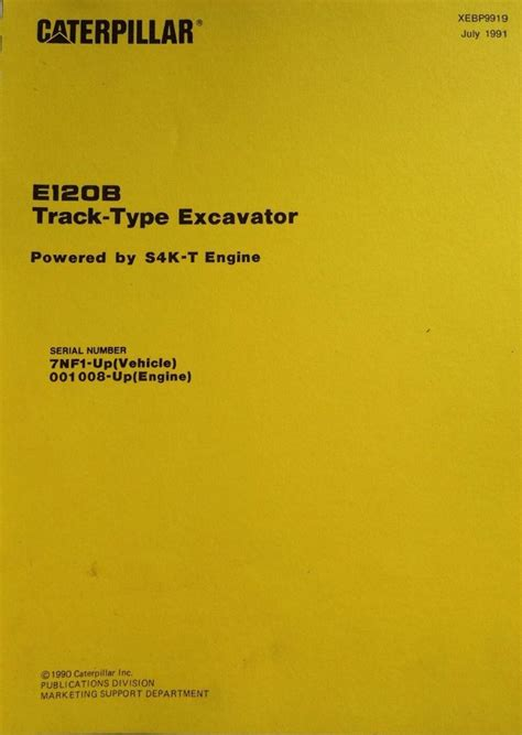 cat caterpillar eb excavator parts manual book xebp nf  sk  engine finney