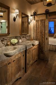 rustic cabin bathroom ideas best 25 rustic bathroom designs ideas on
