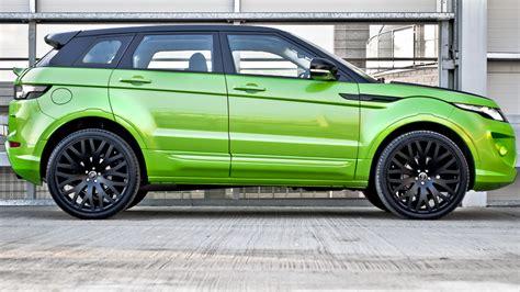 Range Rover Evoque in Lamborghini Green Pearl by Kahn   autoevolution