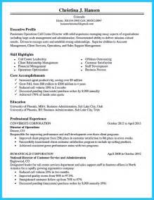 sle objectives in resume for call center sle