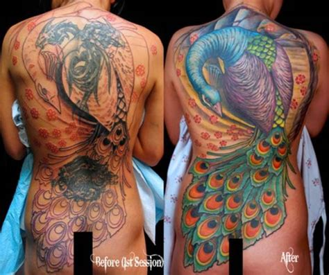 cover up tattoos before and after 55 cover up tattoos impressive before after photos