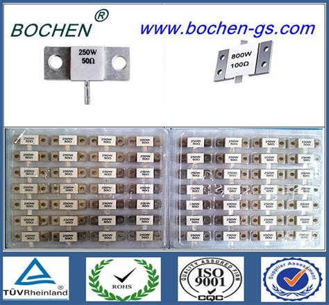 terminating resistors typically a resistance of ohms each rf chip termination resistor bochen rig 250w 50 ohm buy rf chip termination resistor