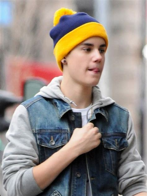 Beanie Topi Kupluk Justin Bieber hat justin bieber beanie coat denim jacket wheretoget
