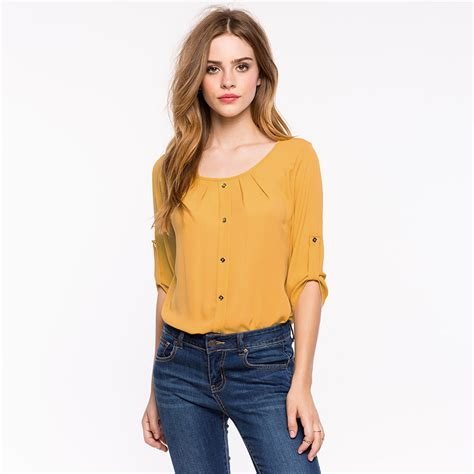 Low Cut Blouse At Work by High Quality Low Cut Blouse Promotion Shop For High
